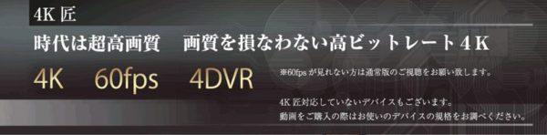 4K匠VR動画