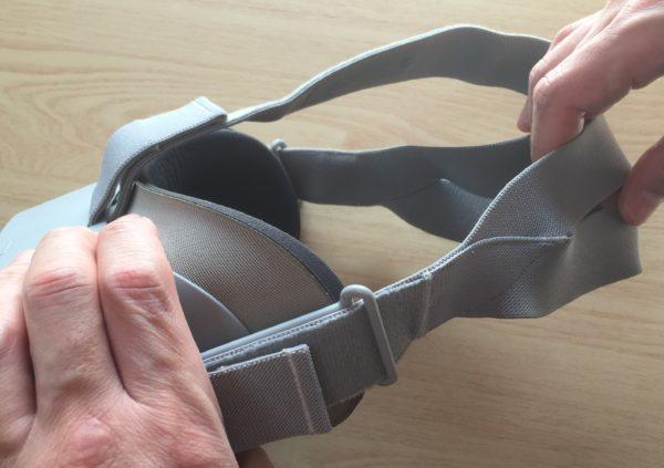 OculusGoマジックテープ1